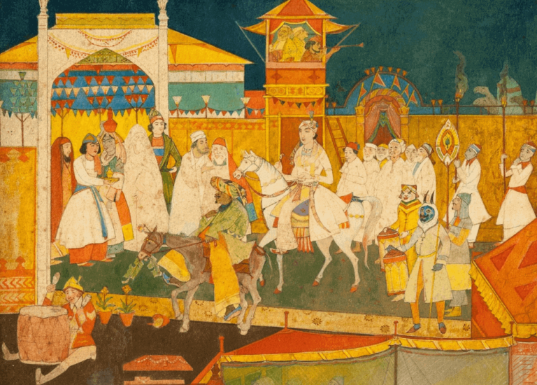 The Mughal Miniaturist of Jorasanko